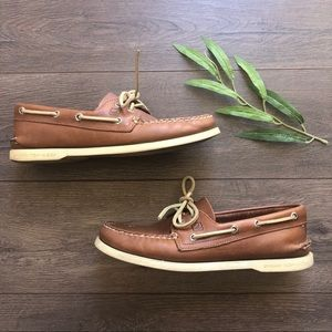Sperry Top-Sider Boat Shoe - Size 8.5 - Tan